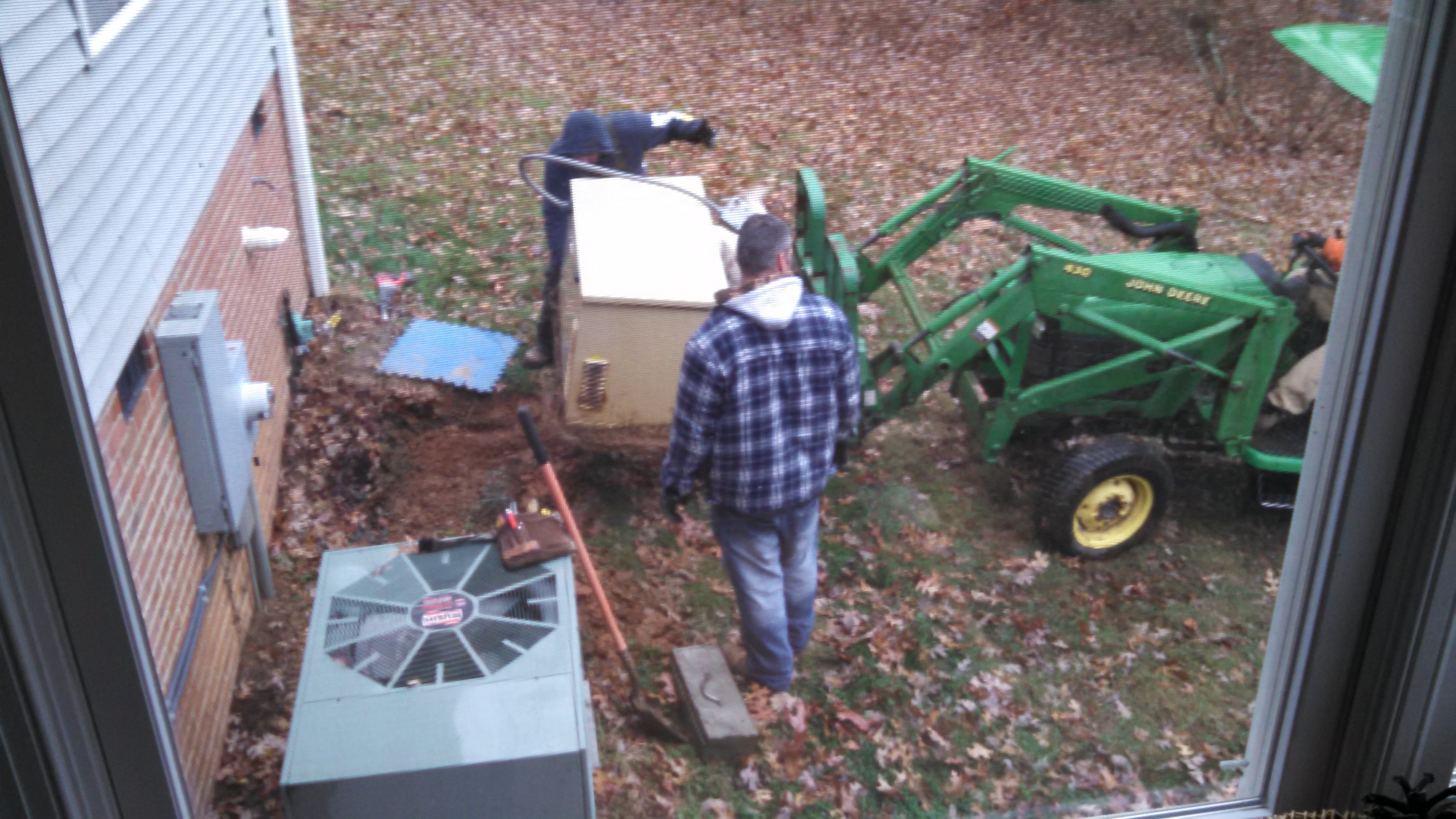 Out w/ the Old Generator