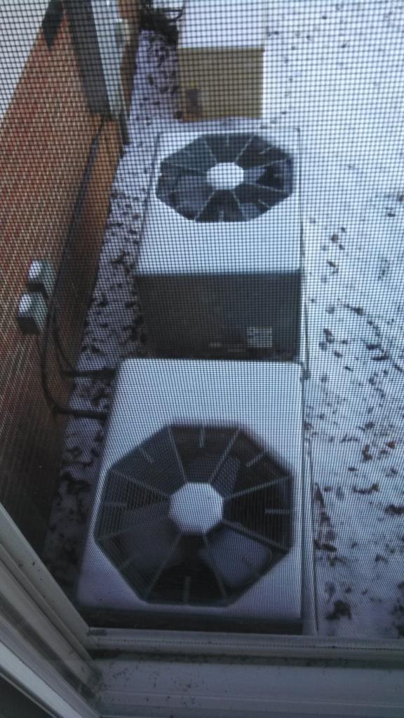 Outside Heat Pump Units