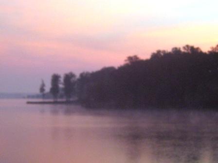 Sunrise at Lake Anna
